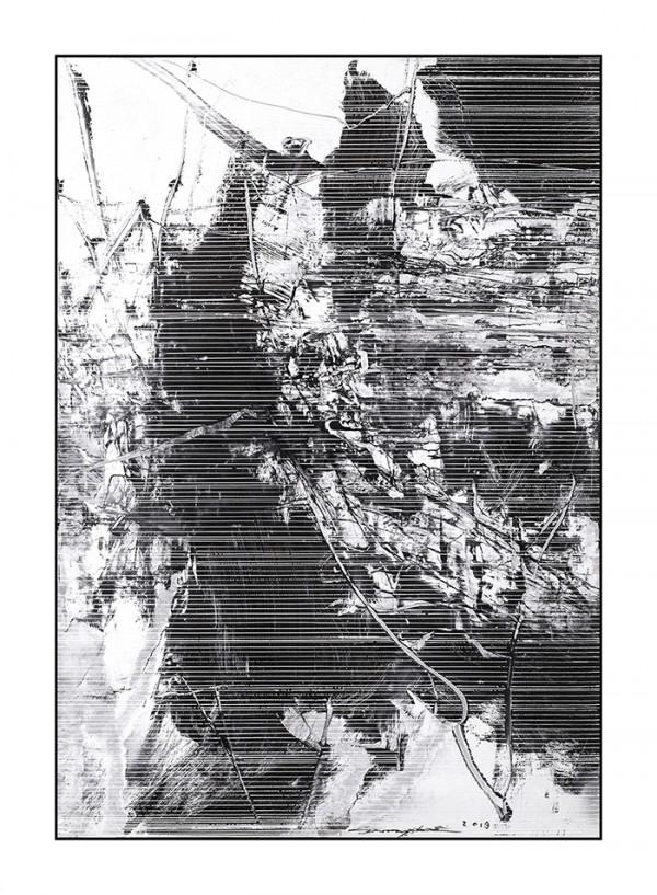 雪原诗书80-56x80cm2019